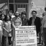 Hungerstreik von Exil-Chilenen in der Evangelischen Studentengemeinde, Lindemannstr. © Fotoarchiv Ruhr Museum: Manfred Scholz (Fotograf), Exil-Chilenen im Hungerstreik, Dortmund, 31. Mai 1978