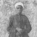 """Johanna Maria Gertse - """"die erste Herero-Christin"""". Abbildung aus August Kuhlmann: Auf Adlers Flügeln. 1911"""