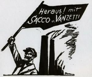 Sacco und Vanzetti, Westfälischer Kämpfer, Dortmund, 22.08.1927