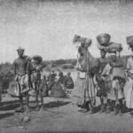 Zurückkehrende Herero. August Kuhlmann: Auf Adlers Flügeln,1911