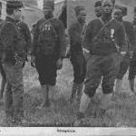 """""""Sénégalais"""". Carte Postale, beschriftet 1917. Sammlung Detlev Brum."""
