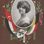 """""""Lege dieses Kärtchen fein …"""". Kriegspostkarte, gelaufen als Feldpost im Dezember 1915. Sammlung Detlev Brum."""