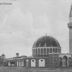 """""""Wünsdorf-Zossen. Moschee"""". Wilhelm Puder, Kunstanstalt, Berlin. Ansichtskarte, gelaufen als Feldpost im Februar 1918 von Zossen nach Hechingen. Sammlung Detlev Brum."""