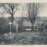 """""""Ein Turkograb in Betincourt b. Rethel"""". Ansichtskarte, """"Vom stellvertr. Generalstab Berlin zensiert"""", gelaufen als Feldpost im Dezember 1917. Sammlung Detlev Brum."""