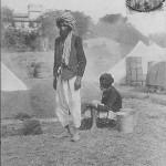 """Guerre 1914. Boulangers Hindou. La Penne prés Marseille"" (Hindu-Bäcker). Carte Postale, gelaufen im August 1915. Sammlung Detlev Brum."