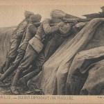 """""""Guerre 1914-15. - Indiens defendant une tranchée"""" (Krieg 1914-15. Inder verteidigen einen Schützengraben). Carte Postale, ungelaufen. Sammlung Detlev Brum."""