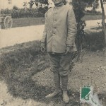 """Infanterie Indigéne (tenue de corvée)"". Carte Postale, gelaufen im Dezember 1914 in Frankreich. Sammlung Detlev Brum."