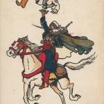 """""""Le Goumier. Fantasia"""". Carte Postale, gelaufen im März 1916 in Frankreich. Sammlung Detlev Brum. Ob Zirkusnummer oder Krieg, von der nordafrikanischen Kavallerie erwartete man in Frankreich """"Kunststücke""""."""