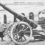 """""""Guerre 1914-1917 – Musée de l'Armee. Les Trophées exposés dans la Cour d'Honneur des Invalides"""". Carte Postale, ungelaufen. Sammlung Detlev Brum."""