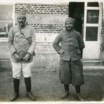 """""""Nordafrikanische Kriegsgefangene"""". Ansichtskarte, ohne Angaben, ungelaufen, Rückseite beschriftet in deutscher Sprache ohne Datum. Sammlung Markus Kreis."""