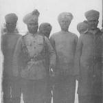 """""""Guerre 1914 – Un beau type de Sergent Hindou rengagé"""". Carte Postale, beschriftet im April 1915. Sammlung Detlev Brum."""