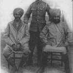 """""""Soldats Anglais et Hindous. Le Conflit Européen de 1914"""". Carte Postale, ungelaufen. Sammlung Detlev Brum."""