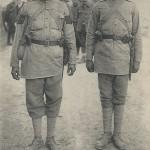 """""""1914. Armée Indienne. Soldats d'infanterie"""" (Indische Armee. Infanteristen). Carte Postale, gelaufen in Frankreich, ohne Datum. Sammlung Detlev Brum."""