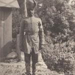 """Guerre 1914 - Type Hindou à La Penne près Marseille"" (Hindu in La Penne in der Nähe von Marseille). Carte Postale, gelaufen 1915 innerhalb Frankreichs. Sammlung Detlev Brum."