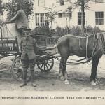 """""""1914. Voiture reservoir - Armées Anglaise et Indienne"""" (Tankwagen). Carte Postale, ungelaufen. Sammlung Detlev Brum."""