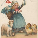 """""""Beste Ostergrüße!"""" Ansichtskarte, gelaufen im April 1917. Sammlung Detlev Brum."""