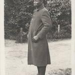 """""""Franz. Senegal-Neger"""". Ansichtskarte, ungelaufen. Rückseite frei. Sammlung Detlev Brum."""